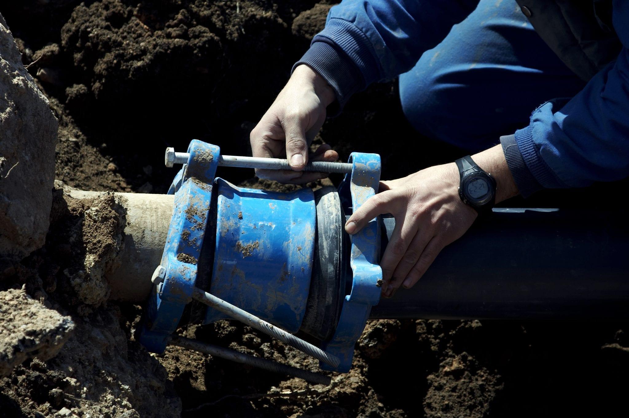 Sanitary Installation Service : Restoration of water supplies repairs pipefix