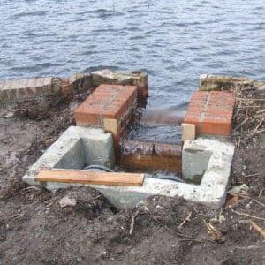 Brownsea Island Fire Fighting Lagoon